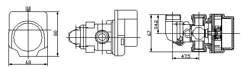 (주)알코 모터 구동형 삼방변 ATV300-02 5